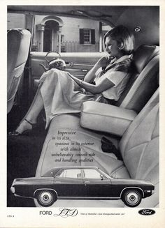 1976 LTD By Ford Aussie Original Magazine Advertisement Gifts For Campers, Camping Gifts, Car Advertising, Ads, Ford Ltd, Australian Cars, Car Brochure, Ford Lincoln Mercury, Car Ford