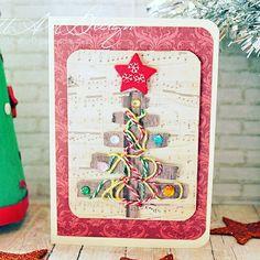 ChristmasCard Advent Calendar, Holiday Decor, Frame, Handmade, Home Decor, Picture Frame, A Frame, Craft, Interior Design