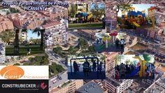 Proyecto de Parque Infantil de Pocoyo en Picassent. Times Square, Travel, Children Playground, Pocoyo, Parks, Blue Prints, Viajes, Destinations, Traveling