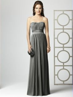Cheap Chiffon Charcoal Grey Bridesmaid Dresses Style D21 - Grey ...