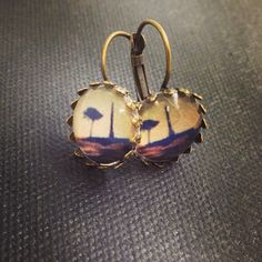 Bellbird Designs One Tree Hill earrings