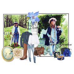 Cowgirl meets Secret Garden