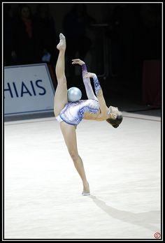 27e Internationaux Gymnastique Rythmique Thiais 2013 : Qualification Grand Prix. Palais Omnisport, Thiais,France. Image credit: Oppamaeki, 30 March 2013.