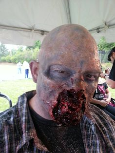 Zombie special effect makeup by Gregory FX
