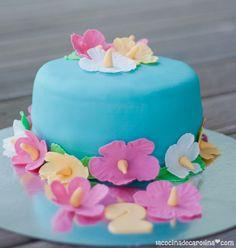La Cocina de Carolina: Tarta hawaiana y ¡feliz cumpleaños Mariana!