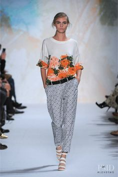 Photo feat. Cara Delevingne - Paul et Joe - Spring/Summer 2013 Ready-to-Wear - paris - Fashion Show | Brands | The FMD #lovefmd