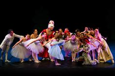 """""""Meraviglie"""", Politema Theatre, Poggibonsi (Italy). Ballet Performance From Alice Adventures in Wonderland by L. Carroll.   Dancers from """"Sinfonia della Danza"""", an affiliated school of Russian Ballet Society.  Picture F. Spatafora"""
