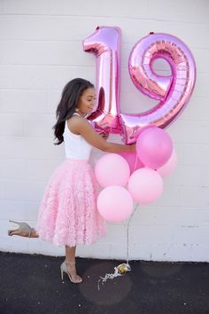 Birthday Balloons Pictures Colour 45 Ideas For 2019 Birthday Goals, Birthday Party Outfits, 18th Birthday Party, Birthday Dinners, Birthday Celebration, Girl Birthday, Birthday Ideas, 19th Birthday Outfit, Tumblr Birthday