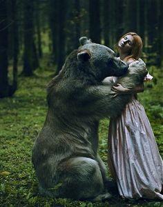 Alynka and the Bear