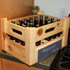 Woodworking Plan to build awesome Beer Crates