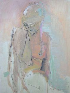 AKT by Kate Long Stevenson #art #women #paintings