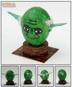 Some people get so creative with egg decorating, like this Yoda egg! Have you been looking for eggs in our  Easter Egg Hunt!?  We've hidden eggs all over our site!  Re-pin and click here to check it out! http://womanfreebies.com/easter-egg-hunt/?yoda  *Expires March 31, 2013*