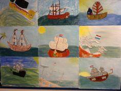 tekenopdracht schepen VOC Crafts For Kids, Arts And Crafts, Teaching Social Studies, Prehistory, Worksheets For Kids, Art Lesson Plans, Spring Crafts, Preschool Activities, Archaeology