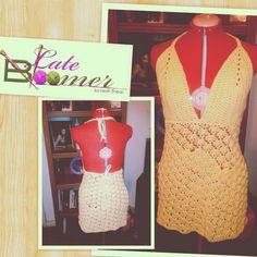 Crochet Bahamas Sundress by Leah Eneas.