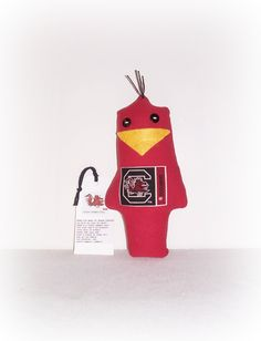 Cocky Gamecock Game Day Doll, Stress Anger DE-Stress Mad Grab It USC Cocky Doll,University Of South Carolina,Karma Dammit Doll EerieBeth EB1 by SheCollectsICreate on Etsy