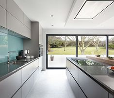 Contempoary grey Kitchen, Belfast, Northern Ireland