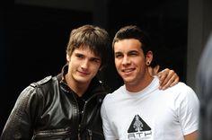 Mario Casas y Yon Gonzalez