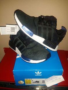 Adidas Nmd R1 Runner WMN Core Black Suede Sz 7.5US|6UK|39.5EU S75230 Pk Boost #adidas #RunningCrossTraining