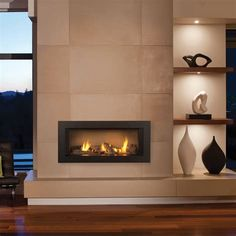 Image result for modern fireplace mantles