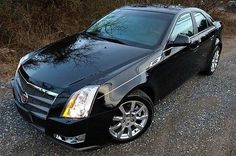 nice  2009 Cadillac CTS Sport - Direct Injection - Black  Black - For Sale