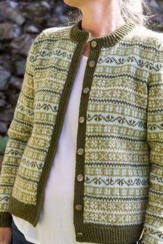 Ravelry: Seterkoften pattern by Wenche Roald Finullgarn Fair Isle Knitting Patterns, Knitting Stitches, Knitting Designs, Knit Patterns, Hand Knitting, Knitting Tutorials, Vintage Knitting, Stitch Patterns, Norwegian Knitting