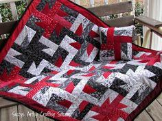Free Quilt pattern- Windmills at Night!