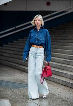 Urban Street Style, Street Style Trends, Look Street Style, Street Looks, Street Style Summer, Street Style Women, Fashion Week Paris, Fashion Over 50, 2020 Fashion Trends