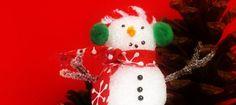 Fun snowman craft with kids.