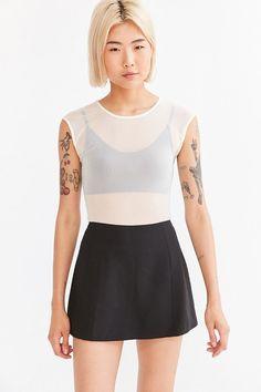 Cooperative Clean Micro Mini Skirt