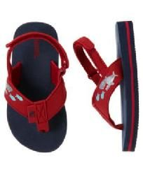 Boys Gymboree Beach Bulldog Summer Sandals Flip Flops 12-18-24 2T NWT 7/8 $10