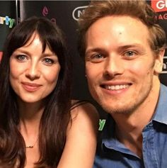 Sam and Cait at San Diego ComicCon 7/17