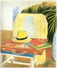 David Hockney, Pablo Picasso, Modern Art, Contemporary Art, Artist Sketchbook, Exhibition Poster, Classical Art, Art Inspo, Colored Pencils