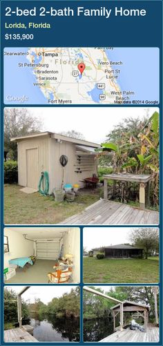 2-bed 2-bath Family Home in Lorida, Florida ►$135,900 #PropertyForSaleFlorida http://florida-magic.com/properties/27434-family-home-for-sale-in-lorida-florida-with-2-bedroom-2-bathroom