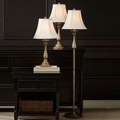 jcpenney.com | JCPenney Home™ Set of 3 Hennessey Floor & Table Lamps