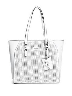 Guess Gia Tote in White 162153104bf9d