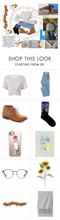 """please fall in love with me"" by stand-tall1712 ❤ liked on Polyvore featuring T By Alexander Wang, Casetify, 3.1 Phillip Lim, Pier 1 Imports, Børn, Improvements, Uniqlo and Fujifilm"