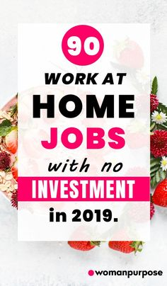 90 work at home jobs with no investment in Make Cash Online, Online Work From Home, Work From Home Tips, Earn Money From Home, Make Money Fast, Online Side Jobs, Money Saving Tips, Money Tips, Millionaire Quotes