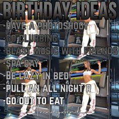 Spa Day, Baddies, Going Out, Baseball Cards, Night, Birthday, Ideas, Birthdays, Thoughts
