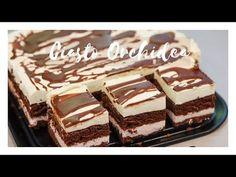 Pyszne ciasto na czekoladowym biszkopcie przełożone delikatnym kremem na bazie śmietanki i serka mascarpone. Quiche, Tasty Videos, Healthy Breakfast Smoothies, Sweets Cake, Polish Recipes, Homemade Cakes, Food Cakes, Christmas Baking, Pain
