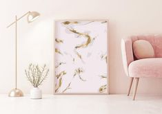 Scandinavian Art, International Paper Sizes, Pink Tone, Pink Grey, Blush Pink, My Room, Your Space, Printable Art, Scandinavian