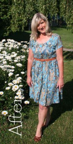 DIY Ten Minute 1960's Dress Tutorial