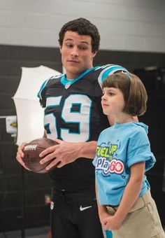 Luke Kuechly, I'm in love