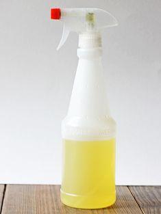 DIY natural orange cleaner recipe