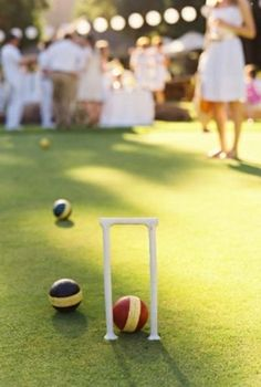 I'm in favor of a pre-wedding gathering on the croquet lawn at the Jekyll Island Club. How fun!! www.jekyllclub.com #jekyllclubsummer #jekyllisland