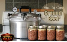 How To Can Ground Beef