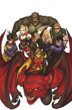 TEEN TITANS #12  Written by BENJAMIN PERCY  Art by MIRKA ANDOLFO  Cover by STJEPAN SEJIC  Variant cover by CHAD HARDIN