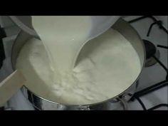 How to make Ricotta Cheese https://www.youtube.com/watch?v=joKAKCot17M