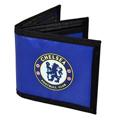 Chelsea F. Card Wallet, Card Case, European Soccer, Chelsea Fc, Card Holder, Club, Unisex, Wallets, Canvas