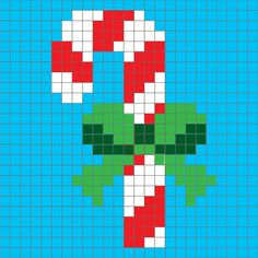 Repeat Crafter Me : Candy Cane Pixel Square & others