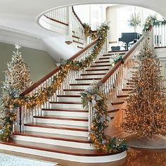 Crystal Ice 60-pc. Ornament Collection...magnificent elegant Christmas decorations, take your ideas from this, none of us own a house like this....but it does give us incentive December 2016